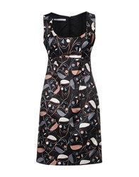 Aquilano Rimondi Short Dresses Black