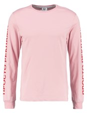 Hype Cyrillic Long Sleeved Top Pink