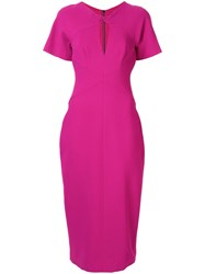 Ginger And Smart Advocate Fitted Dress Pink
