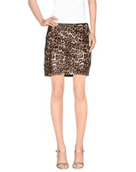 Joseph Skirts Mini Skirts Women Khaki