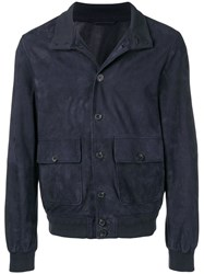 Altea Fitted Jacket Blue