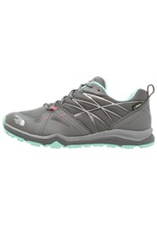 The North Face Hedgehog Fastpack Lite Gtx Hiking Shoes Graphite Grey Ice Green Oliv