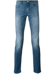 Re Hash Rubens Stonewashed Jeans Men Cotton Polyester Spandex Elastane 35 Blue