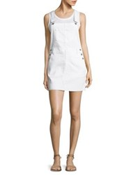 Ag Jeans Kaitlin Denim Overall Dress White