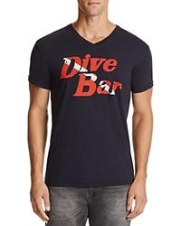 Sol Angeles Dive Bar Graphic Tee Indigo