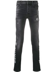 Marcelo Burlon County Of Milan Country Five Pocket Jeans Black
