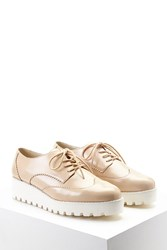 Forever 21 Faux Leather Oxford Creepers