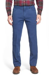 Men's Big And Tall Peter Millar Stretch Cotton Hybrid Pants Royal