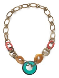 East Multi Resin Link Necklace