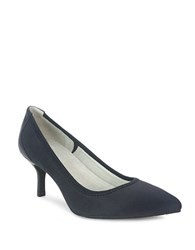 Tahari Toby Pumps Dark Navy