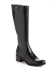 La Canadienne Hannah Leather Riding Boots Black Leather