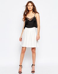Girls On Film Midi Skater Skirt Ivory