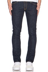 Nudie Jeans Tight Long John Org. Twill Rinsed