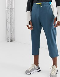 Asos 4505 Stretch Woven 3 4 Length Jogger With Bonded Panels Multi