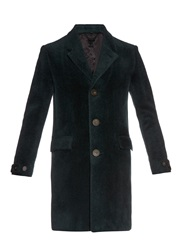 Burberry Shaved Wool Overcoat