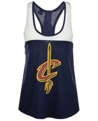 Adidas Women's Cleveland Cavaliers Colorblock Tank Navy White