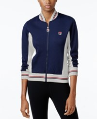 Fila Settanta Colorblocked Jacket Peacoat 412