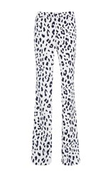 Tibi Cheetah Pants Print
