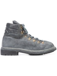 Guidi Hiking Boots Men Horse Leather Leather Rubber 45 Grey