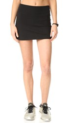 Beyond Yoga Kate Spade New York Side Slit Skirt Jet Black