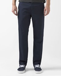 Carhartt Navy Blue Rinsed Straight Fit Dunmore Station Chinos