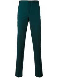 Paul Smith Ps By Classic Chinos Men Acetate Viscose Mohair Wool 28 Green