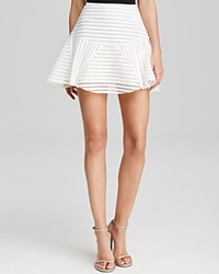 J.O.A. Skirt Bloomingdale's Exclusive Illusion Striped Mini