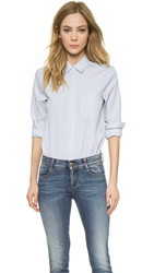 Jenni Kayne Stripe Shirt White Black