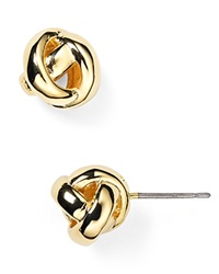 Kate Spade New York Dainty Sparklers Knot Stud Earrings Gold
