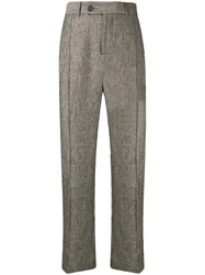 Strateas Carlucci Classic Tailored Trousers Grey