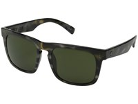 Electric Eyewear Mainstay Vintage Tort Grey Melanin Grey Sport Sunglasses Black