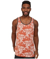 Rip Curl Larry Tank Top Picante Men's Sleeveless Red