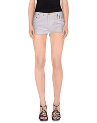 Beayukmui Denim Denim Shorts Women