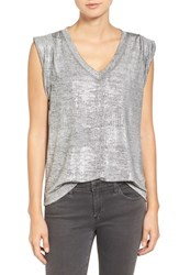Trouve Women's Metallic Tee