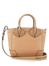 Christian Louboutin Eloise Small Leather Cross Body Bag Nude