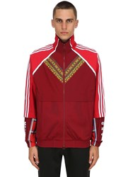 Adidas By Pharrell Williams Afro Hu Tt Fz Track Jacket Multicolor