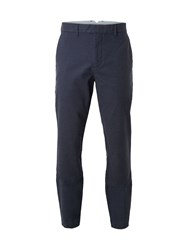 White Stuff Men's Wandsworth Semi Plain Trouser Blue