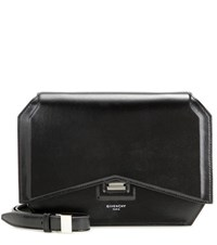 Givenchy Bow Cut Medium Leather Shoulder Bag Black