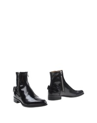 Diesel Black Gold Ankle Boots