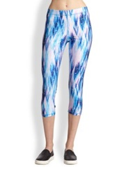 Zara Terez Snow Dream Printed Cropped Leggings
