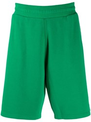 Givenchy Jersey Logo Shorts Green