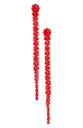 Simone Rocha Women's Long Beaded Drop Earring
