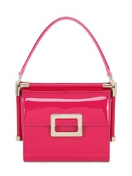 Roger Vivier Mini Miss Viv Patent Leather Bag