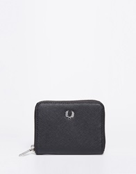 Fred Perry Small Zip Top Purse Black