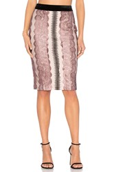 Endless Rose Lace Midi Skirt Pink