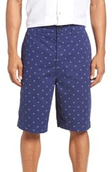 French Connection Iki Twill Shorts Patriot Blue