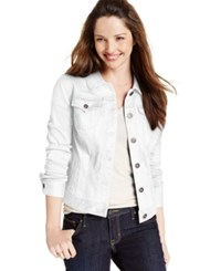 Styleandco. Style And Co. Petite Denim Bright White Wash Jacket Only At Macy's