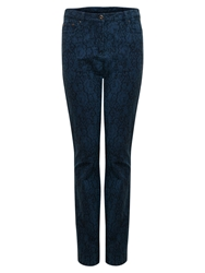 East Jacquard Jeans Ink