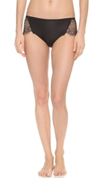 For Love And Lemons Bat Your Lashes Panties Black Nude