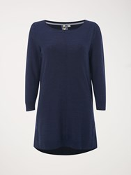 White Stuff Whirlpool Tunic Navy